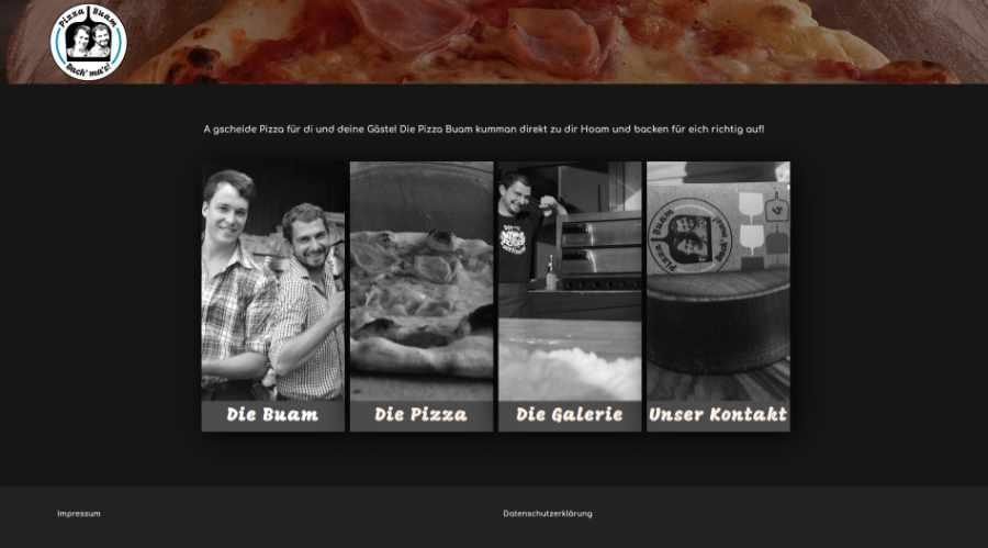 Pizza Buam           Website